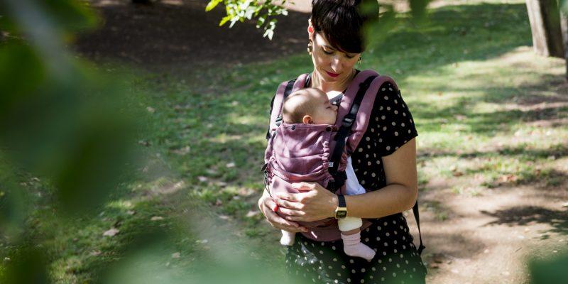 mochila para recién nacido