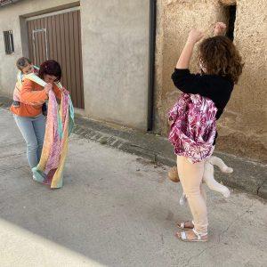 asesora de porteo ergonómico en Zaragoza