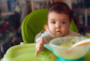alimentación complementaria bebé