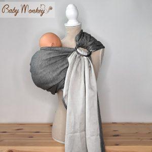 Bandolera Linen Cotton Baby Monkey